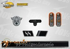 Toy City 1/6 scale Toy WWII German Insignia Set 12 for action figures