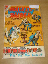 MASKED RAIDER #29 FN (6.0) CHARLTON COMICS APRIL 1961