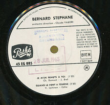 "BERNARD STEPHANE FRENCH 7"" PROMO JACQUES BREL"