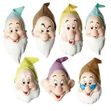 7 DISNEY SNOW WHITE DWARF DOC DOPEY GRUMPY SLEEPY SNEEZY HAPPY COSTUME MASK HAT
