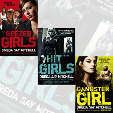 Thrillers Mystery Book Collection 3 Books Set,Geezer Girls By Dreda Say Mitchell