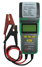 NEW! Automotive Car Battery Load Tester 12V & 24V Battery Analyzer With Printer