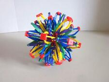 "HOBERMAN FLIP OUT Sphere Sturdy Construction RAINBOW COLORS 7"" Size"