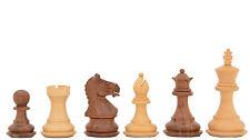 Fierce Knight Staunton handgeschnitzte Sheeshamholz Schachfiguren – chessbazaar