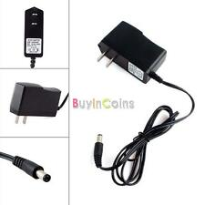 AC 100-240V DC 9V 1A Wall Charger Power Supply Adapter 5.5 x 2.1MM US YUCA