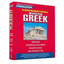 Modern Greek 1 by Pimsleur (2006, CD, Unabridged)