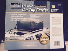 """Reese Soft Sided Car Top Carrier. Weather Resistant 10 cu.ft. 37""""x30""""x16""""  NEW!"""