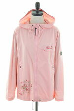 JACK WOLFSKIN Womens Windbreaker Jacket Size 18 XL Pink Cotton