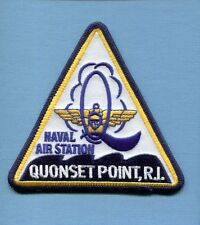 NAS NAVAL AIR STATION QUONSET POINT RI TRI US Navy Base Squadron jacket Patch