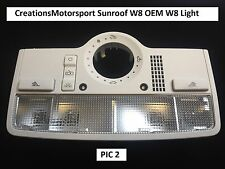 VW Golf Bora Passat Leon Skoda W8 Interior Light Sunroof version Lighting Unit 2