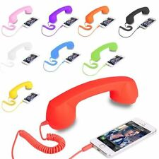 Coco Retro Phone Anti-Radiation 3.5mm Headset Handsfree Headphone For Smartphone