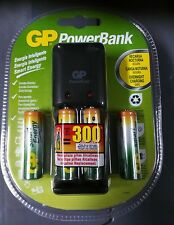 GP POWER BANK SMART ENERGY 2 AA + 2 AAA BATTERIES INCLUDED, Rechargeable 4 pack