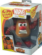THE INCREDIBLE HULK - Red Hulk PopTaters Mr Potato Head Figurine (PPW Toys) #NEW