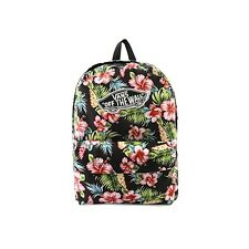Vans REALM FLORAL HAWAII Backpack Bag BACK PACK SKATE BOOK BAG 22L CLASSIC PATCH