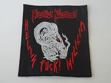BESTIAL WARLUST EMBROIDERED PATCH