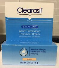 Clearasil Daily Clear ADULT TINTED ACNE Treatment  SULFUR 8% Resorcinol 2% 06/17