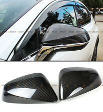FOR 2016-17 LEXUS RX350 RX450H F-SPORT ADD-ON CARBON FIBER SIDE MIRROR COVER CAP