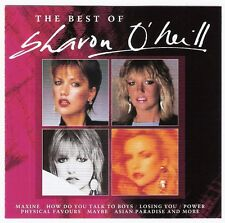 SHARON O'NEILL The Best Of CD album 18trks 2005 NZ/aussie original 1980s AOR