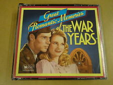 4-CD BOX READER'S DIGEST / GREAT ROMANTIC MEMORIES OF THE WAR YEARS