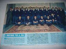 CORRIERE PICCOLI 27/5/1962 N° 21 CON POSTER ITALIA NAZIONALE CALCIO MONDIALI 62