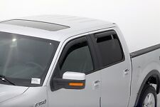 Auto Vent Shade 194155 4pc In-Channel Ventvisor for Ford F-150