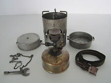 Antique Gustav Barthel JUWEL No33 WWII Military camping stove Made in Germany