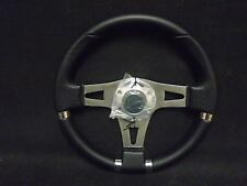 "13"" Boat / Marine Sport Boat Steering Wheel with Hub   STWHW105-N4"