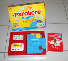 IL PAROLIERE JUNIOR – Editrice Giochi 1 ed 1998 OTTIMO