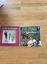 Allan Sherman - My Son The Celebrity   and My Son The Folk Singer Lot of 2 LP's