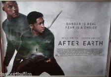 Cinema Poster: AFTER EARTH 2013 (Quad) Jaden Smith Will Smith Sophie Okonedo