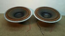 Matched Pair 1960's Vintage Acoustic Research AR-2 Woofers Speakers