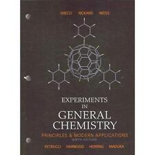 Experiments in General Chemistry 9th Edition