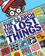 NEW   WHERE'S WALLY the SEARCH FOR LOST THINGS