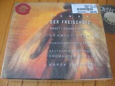 SEALED 2 CD BOX Weber Der Freischütz Marek Janowski Schmidt Scharinger 1994