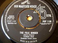 """TOMMY ROE - THE FOLK SINGER   7"""" VINYL"""