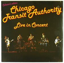 "12"" LP - Chicago Transit Authority - Live In Concert - A3846 - washed & cleaned"