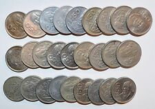 MEXICO lot 50 PESOS fifty vintage world foreign Mexican 27 COINS