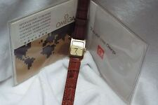 (11) Ladies Vintage Gold Plated Omega Deville Automatic Wrist Watch