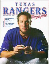 2013 Texas Rangers Program Joe Nathan Volume 42 No. 9