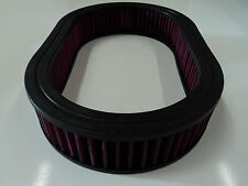 """12"""" Oval Washable Air Cleaner Element Filter Chevy SB BB SBC BBC Chevy 350 454"""