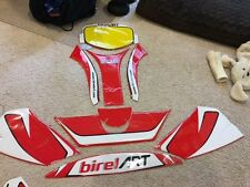 Birel/Art sticker kit for fairing and bumper 2009- 2015 C28 Chassis
