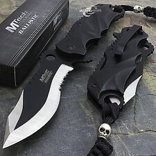 "MTECH USA 8"" SPRING ASSISTED FOLDING TACTICAL POCKET KNIFE Blade Assist Open EDC"