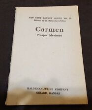 CARMEN by PROSPER MERIMEE 10 Cent Pocket Book #21