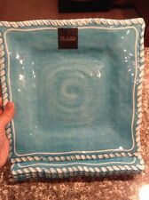 Il Mulino Melamine Dinner Plates DINING NWT Set Of 4 Square