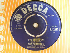 """THE FORTUNES You've Got Your Troubles   Decca UK 1965 7"""""""