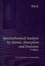 Spectrochemical Analysis by Atomic Absorption and Emission by P. Peramaki and...