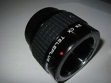 CONTAX YASHICA FIT 2X CX TELEPLUS MC7 TELE CONVERTOR