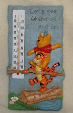disney winnie the pooh indoor/outdoor thermomter pre-owned