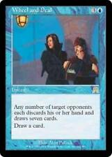 WHEEL AND DEAL Onslaught MTG Blue Instant RARE