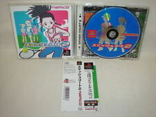 PS1 SMASH COURT 2 II with SPINE CARD * PS Playstation Japan Video Game p1